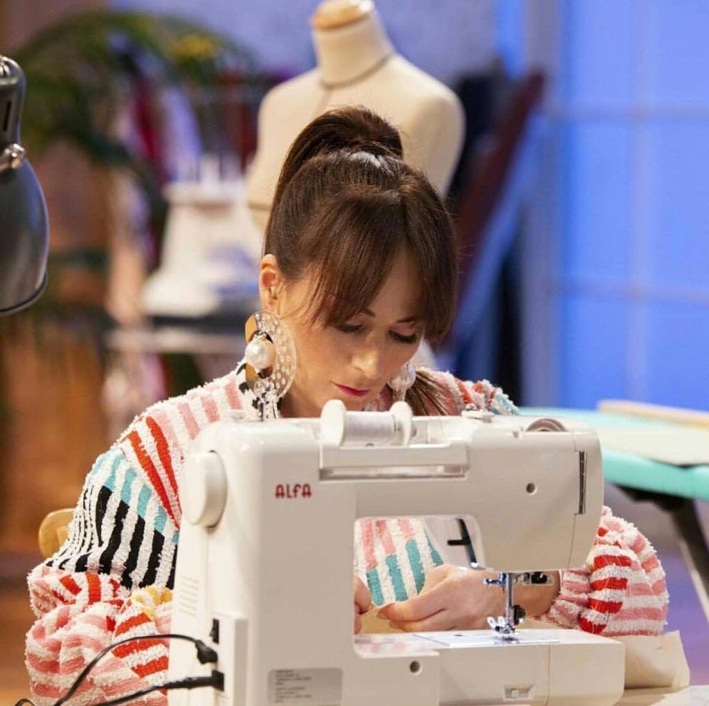 María Escoté, foto Instagram Maestros de la Costura