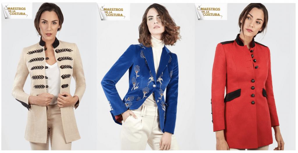 maestros de la costura chaquetas