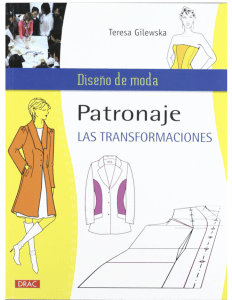 patronaje transformaciones